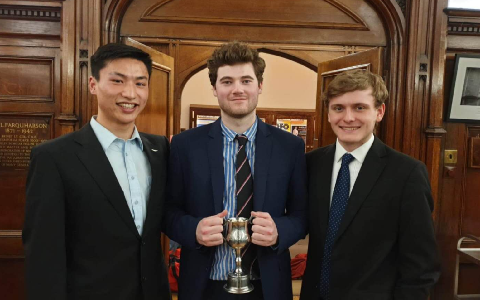 3 students at St Anne's College, Oxford University