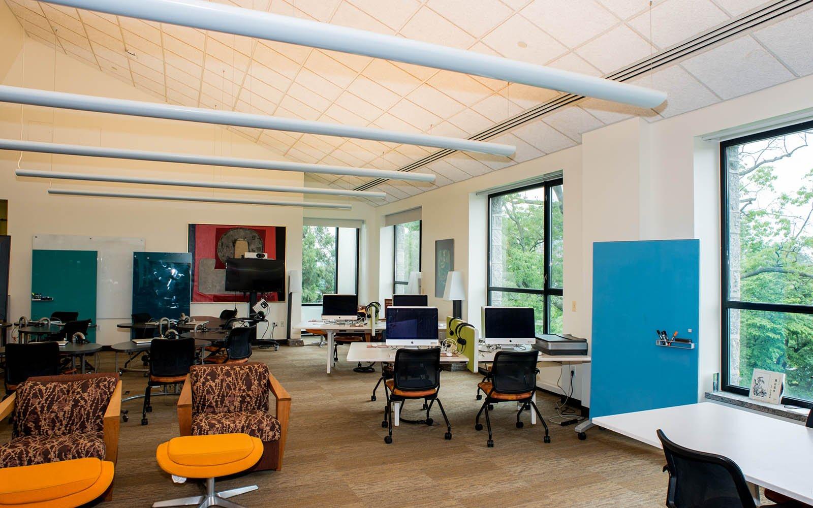 The Language Resource Center in Kohlberg Hall
