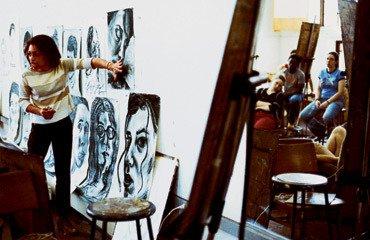 Art Department, critique session