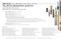 GPASC 7th Annual Undergraduate Conference