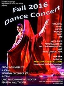 Fall 2016 Dance Concert
