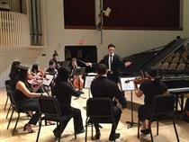 Lab Orchestra performs at Pennsylvania Academy of Fine Arts
