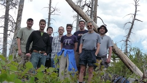 At Pingree Park (Colorado State University) conference in August of 2008