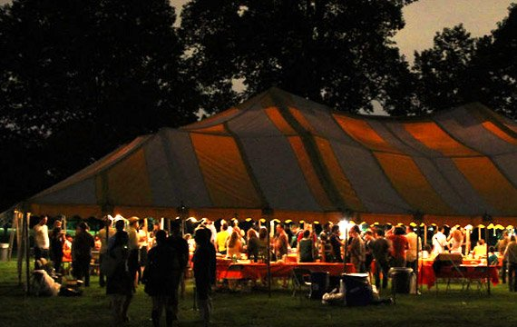 alumni tent