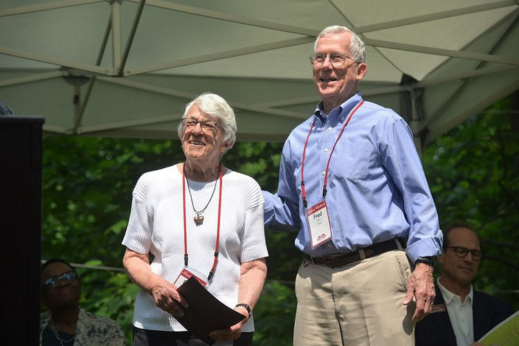 Fred Kyle '54 and Elena Kyle '54