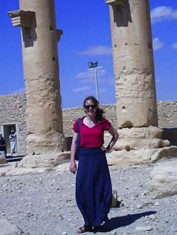 Clara Gordon in Syria, Photographs of students abroad