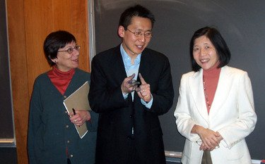 Professors Jeanne Marecek, Moon-Ho Jung, and Lillian Li