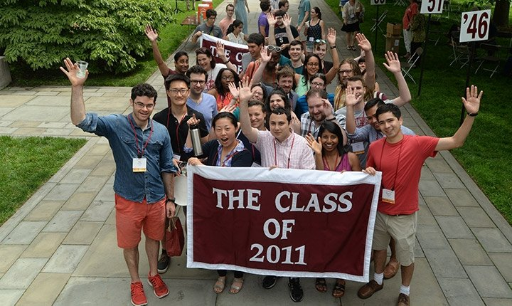 Class of 2011 at Alumni Weekend