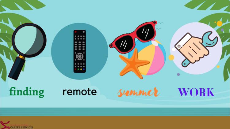 Finding Remote Summer Work