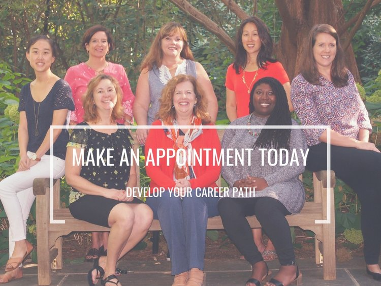 Make an appointment today; develop your career path