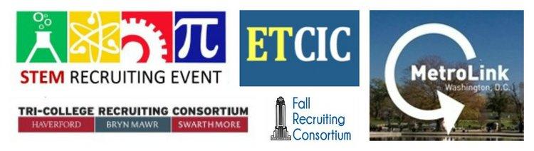 collage of consortium logos