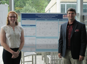 Julia Murphy '15 and Prof. Paul Rablen