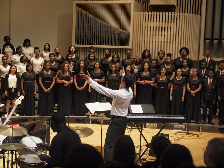 The Chester Children's Chorus performing at our May 2015 concerts.