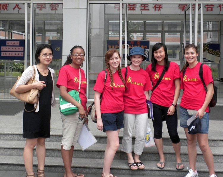 In summer 2011, Tiffany Barron '13, Eugenia Sokolskaya '13, Abigail Starr '13, Emmal Saarel '14 and Rebecca Teng '14 conducted a research field-trip to Shanxi, China. Supervised by Lala Zuo, Assistant Professor of Chinese, and financed by the ASIANetwork Freeman Student-Faculty Fellows Program.