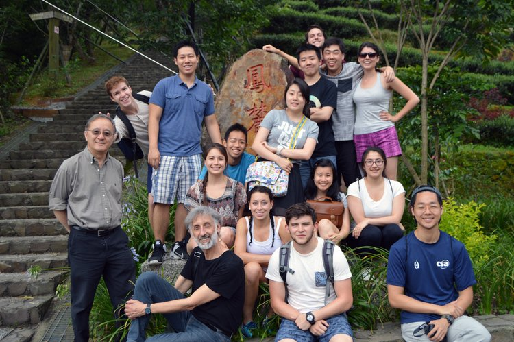 Group photo at Nantou