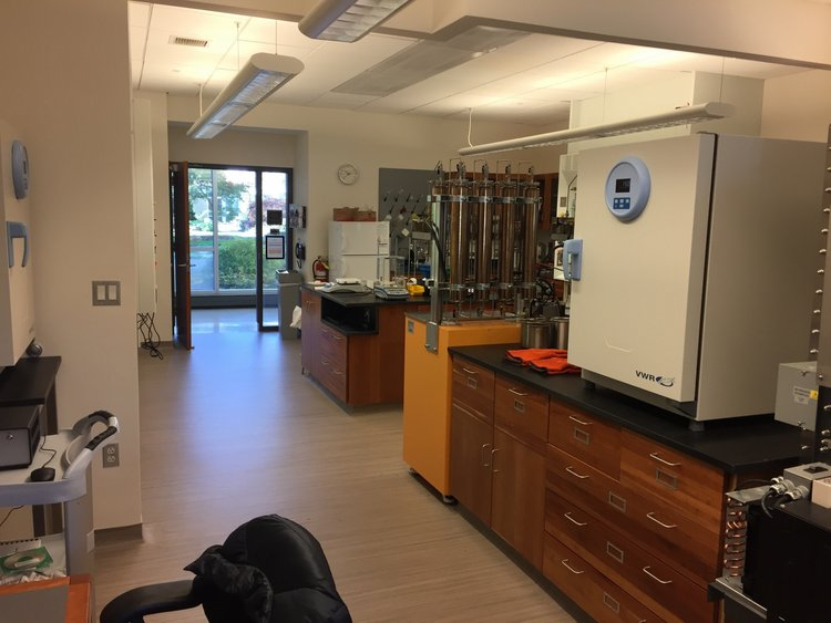 A view of the lab from the back corner.