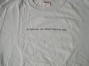2000-01 Computer Science T Shirt
