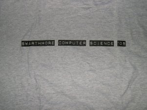 2004-05 Computer Science T Shirt