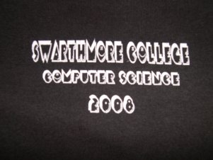 2007-08 Computer Science T Shirt