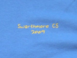 2008-09 Computer Science T Shirt