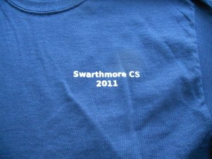 2010-11 Computer Science T Shirt