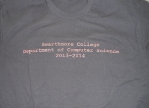 2013-14 Computer Science T Shirt
