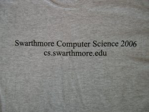 2005-06 Computer Science T Shirt