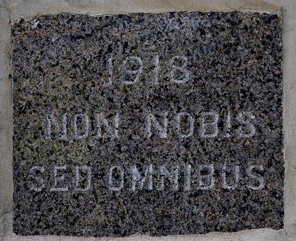 1918 Non Nobis