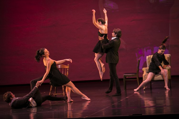 Dancers from Fall 2016 Dance Concert