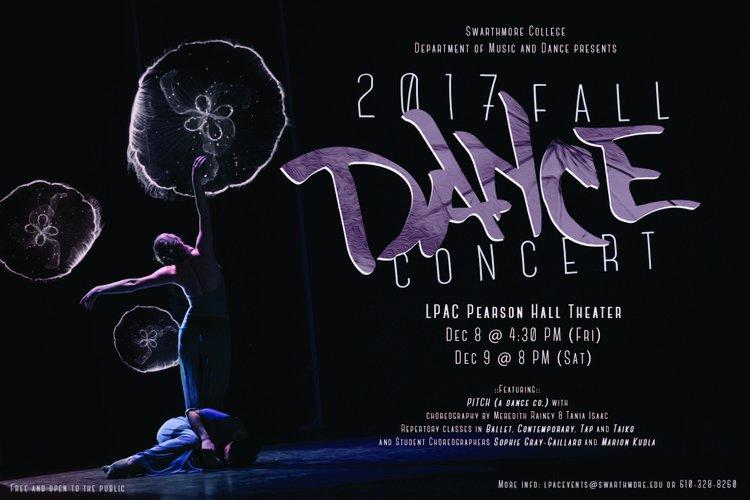fall 2017 dance concert