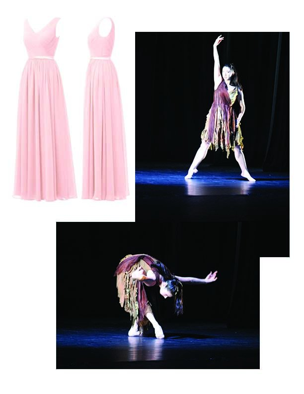 Before and after costume design