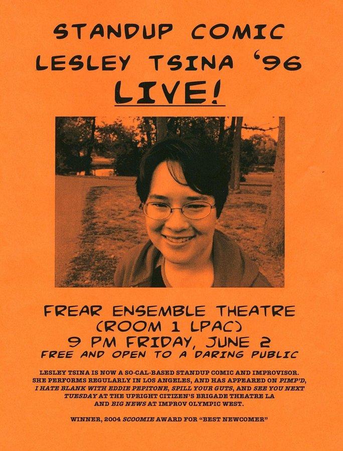 Leslie Tsina '96