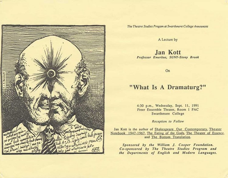 What Is a Dramaturg?