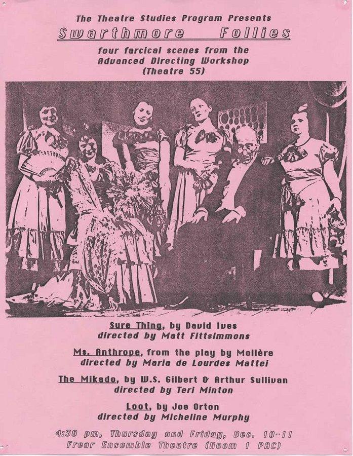 The First Annual Swarthmore Follies