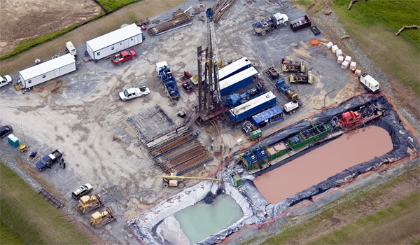 Natural Gas Well Site, Dimock, PA
