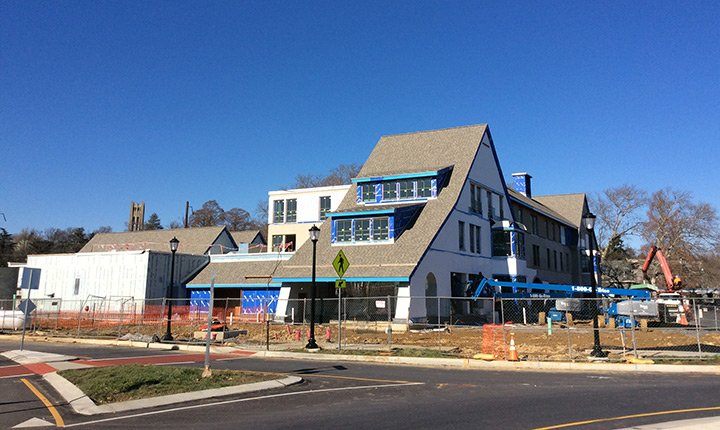 Swarthmore Inn Construction