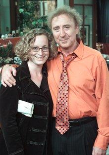 Gail Lerner '92 and Gene Wilder