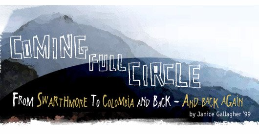 Coming Full Circle by Janice Gallagher '99