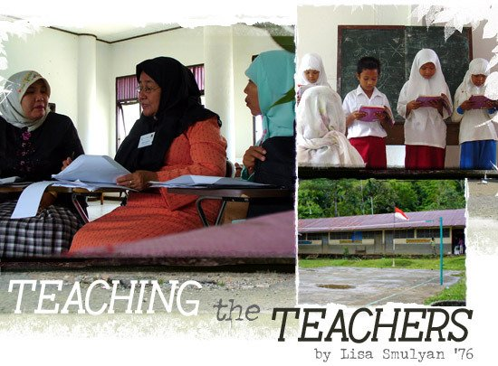 Teaching the Teachers By Lisa Smulyan