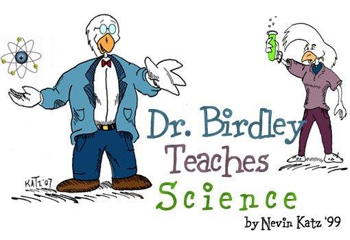 Dr. Birdley Teaches Science by Nevin Katz '99