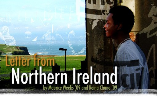 Letter from Northern Ireland