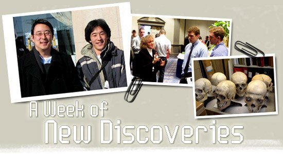 A Week of New Discoveries