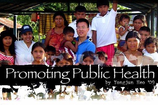 Promoting Public Health by Yongjun Heo '09