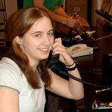 Emily Hager '10, Physics major