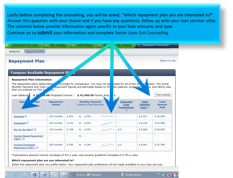 14th slide, studentloans.gov
