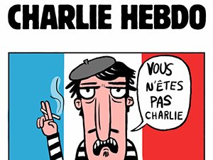 Charlie Hebdo - Vous n'êtes pas Charlie