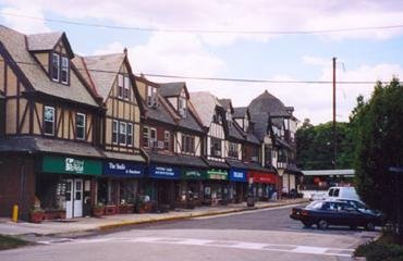 Downtown Swarthmore, Pa.