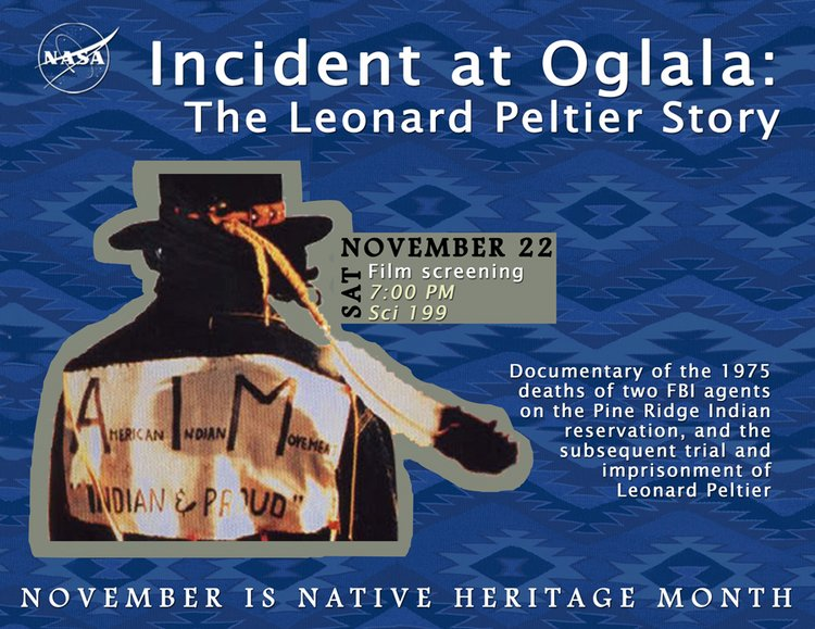 Incident at Oglala flyer