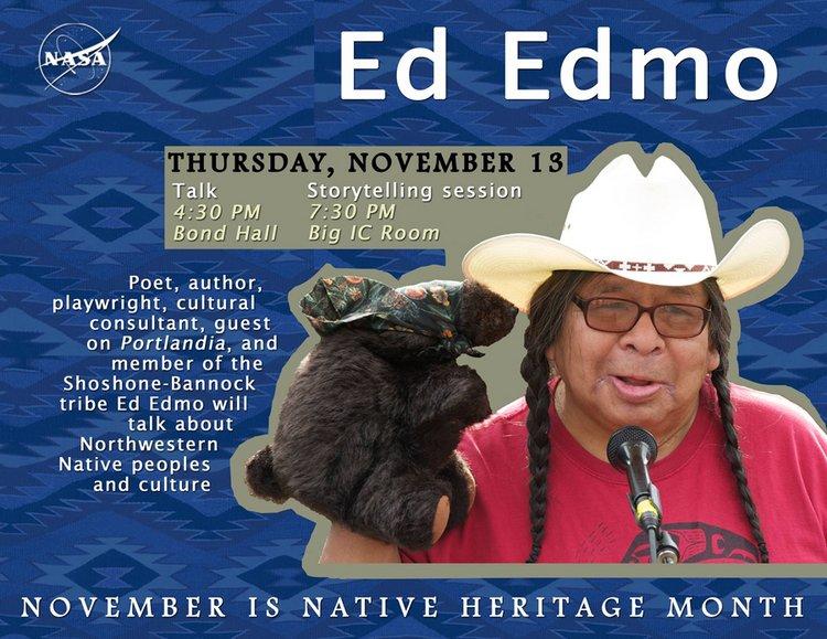 Ed Edmo flyer