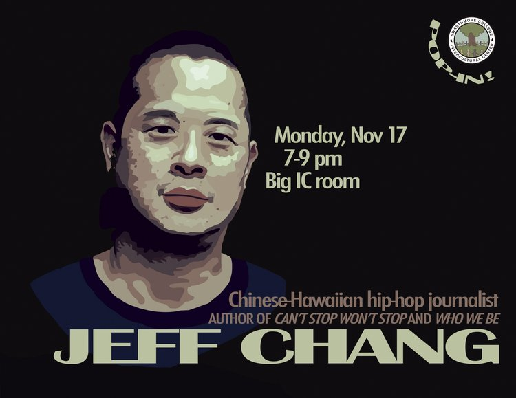 Jeff Chang flyer